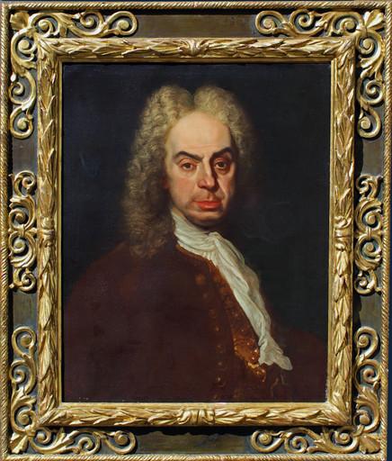Bartolomeo NAZARI - Painting - Ritratto di gentiluomo
