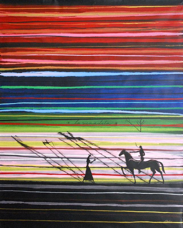 José BEDIA VALDÉS - Peinture - La Venadita
