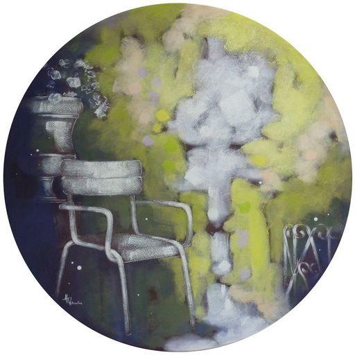 Anne Christine WELLENSTEIN - Peinture - Au Luxembourg