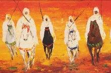 Hassan EL GLAOUI (1924) - Jinetes bajo el sol
