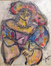Miriam ARMAN - Gemälde - Ballerina del can can