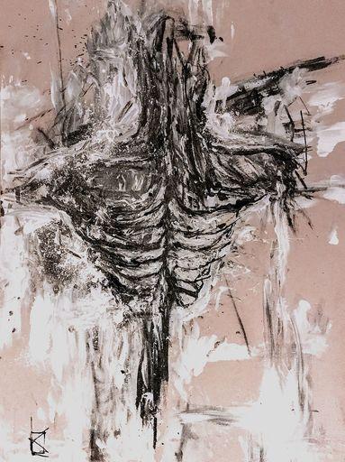 Guillaume KALT - Dibujo Acuarela - Bout de torse    (Cat N° 6160)