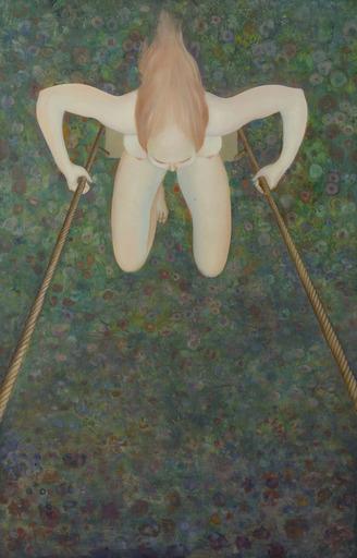 Leonor FINI - Painting - Escarpolette III