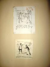 Jules Renard DRANER - Drawing-Watercolor - PRIMEURS GIBIER