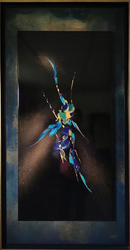 Elodie DOLLAT - Painting - Ondelindë I