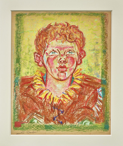 André MASSON - Drawing-Watercolor - Portrait de Piere Matisse