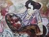 Linda LE KINFF - 水彩作品 - DESSIN AQUARELLE GOUACHE SIGNÉ SIGNED WATERCOLOR DRAWING