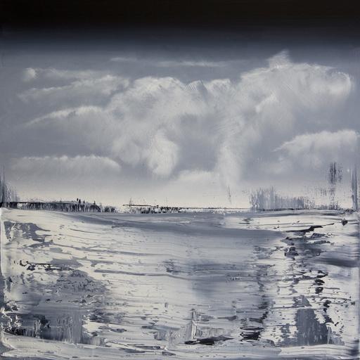 Harry James MOODY - Peinture - CLOUDS NO.307