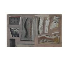 Mario SIRONI - Painting - Compisizione