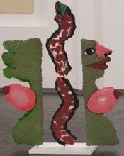 José DE GUIMARAES - Escultura - Woman with Snake One