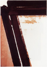 Pierre SOULAGES - Estampe-Multiple - Sérigraphie n°15