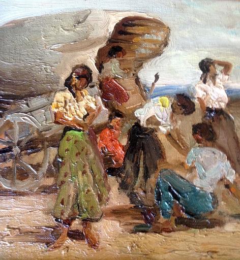 Marcel DYF - Pittura - Tsiganes - Gitans -  Gypsy