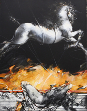 Vanni SALTARELLI (1945) - Le rêve d'un cheval