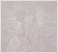 Franz GERTSCH - Grabado - Saintes Maries de la Mer