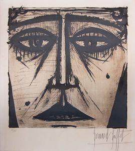 Bernard BUFFET - Print-Multiple - Visage