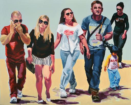 Helga GRAF - Painting - Unterwegs