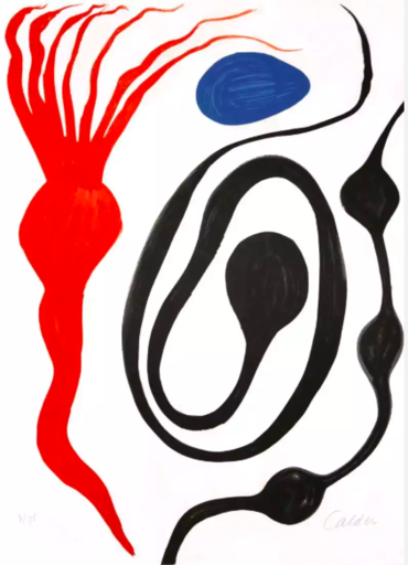 Alexander CALDER - Print-Multiple - Untitled