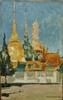 Ivan Leonidovich KALMYKOV - Painting - Etude pour le palais impérial de Bouddah