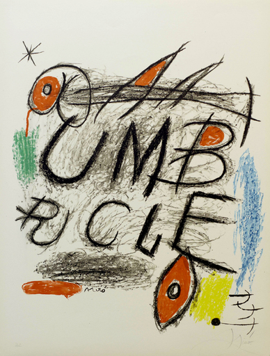 Joan MIRO - Stampa Multiplo - Umbracle