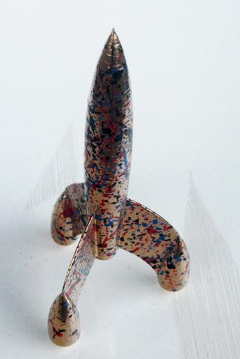 SPACO - Sculpture-Volume - gold fusee