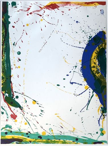 Sam FRANCIS - Estampe-Multiple - Untitled (SF-315)