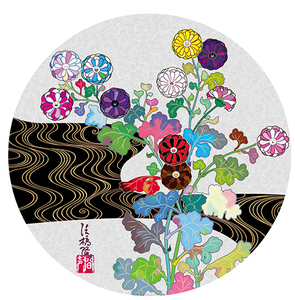 Takashi MURAKAMI - Grabado - Korin: Tranquility