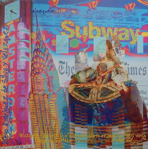 Alan BERG - Print-Multiple - Subway