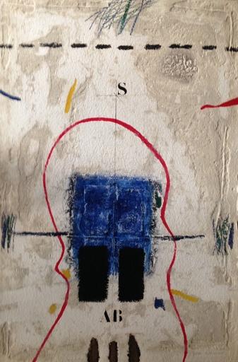 James COIGNARD - Grabado - Composition, 1988