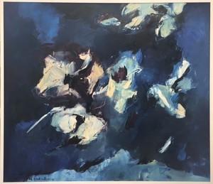 Charlotte MOLENKAMP - Painting - Composition abstraite