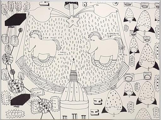 Nico VASCELLARI - Drawing-Watercolor - Untitled