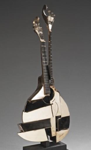 Fernandez ARMAN - Sculpture-Volume - Mandoline