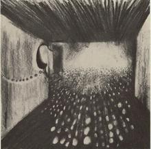 Enzo CUCCHI - Dibujo Acuarela - Fontana Vista