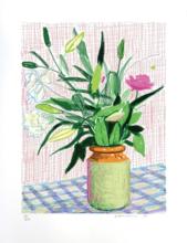 David HOCKNEY - Print-Multiple - Untitled, 516 (Lilies)