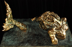 Salvador DALI - Sculpture-Volume - Sun God Rising (Prestige-scale)