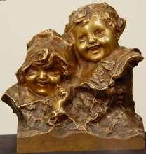 Juan CLARA AYATS (1875-1958) - Brother and Sister
