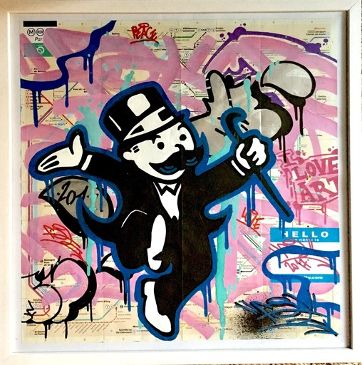 FAT - Painting - Mr Monopoly 3