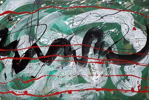 Marie Edmée SEGUIN - Painting - Il Est Temps De Rallumer Les Etoiles n°32