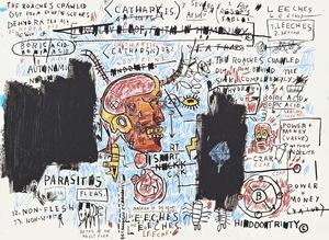 Jean-Michel BASQUIAT - Print-Multiple - Leeches