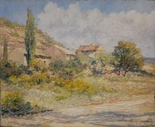 Louis LABRO-FONT - Painting - La Chevillonne