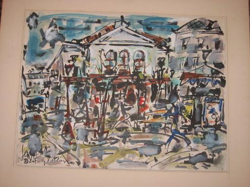 GEN PAUL - Drawing-Watercolor - landscape
