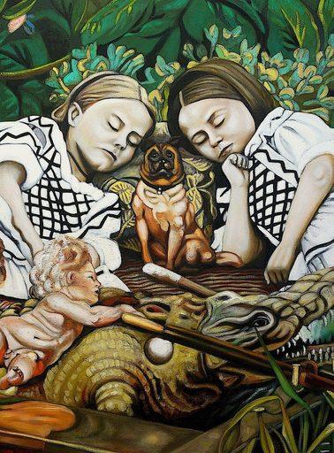 Karem ARRIETA - Painting - « Mélancolie furieuse »