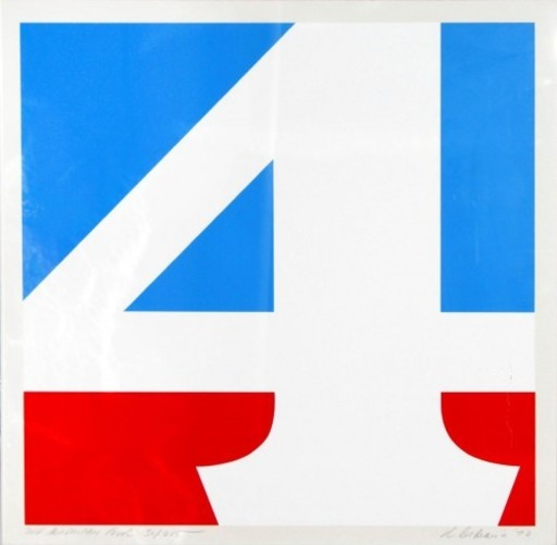 Robert INDIANA - Stampa-Multiplo - The American Four,
