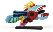 Karel APPEL - Grabado - Flying Fish