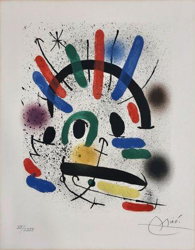 Joan MIRO - Print-Multiple - Miro Lithographe I planche 4