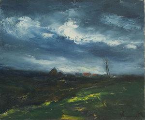 Maurice DE VLAMINCK - Pittura - Paysage