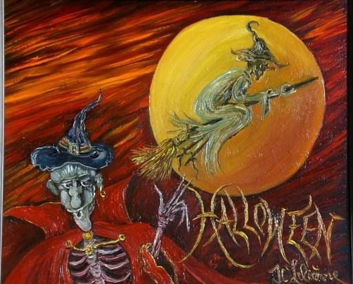 Jean-Claude LELIEVRE - Peinture - hallowen