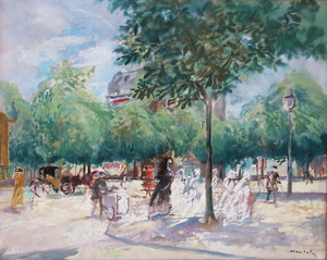 Emilio GRAU-SALA - Peinture - BOULEVAR DE PARIS