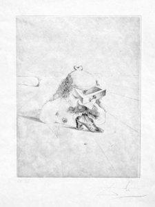 萨尔瓦多·达利 - 版画 - The Bureaucrat