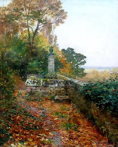 Serafín DE AVENDAÑO - Pintura - paisaje italia