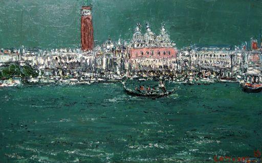 André COTTAVOZ - Painting - Venise